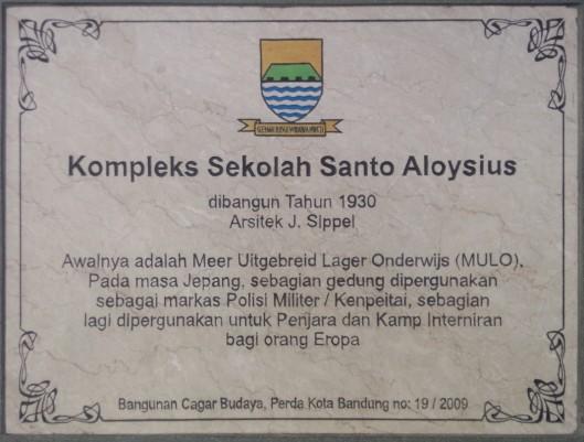 komplek sekolah santo aloysius