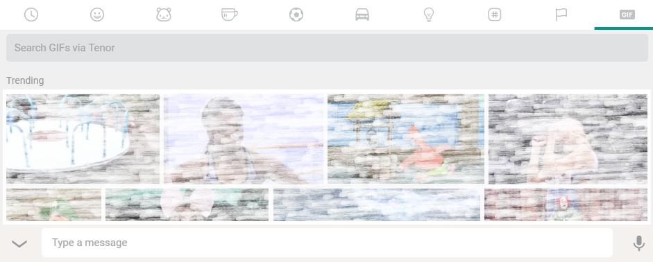 search GIFs via Tenor